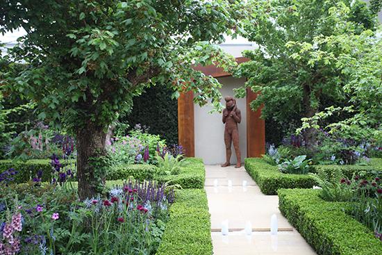 impressive garden hedges