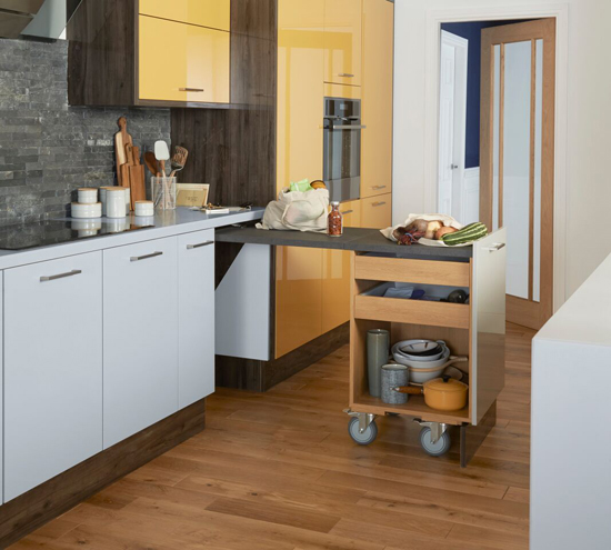 Kitchen Island Alternatives For When You 39 Re Short On Space