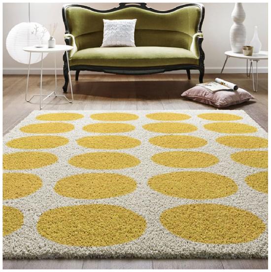 spotty rug