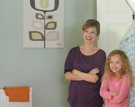 mother and daughter from Rated People TV ad
