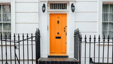 Photo of Front door colours and what they might say about you