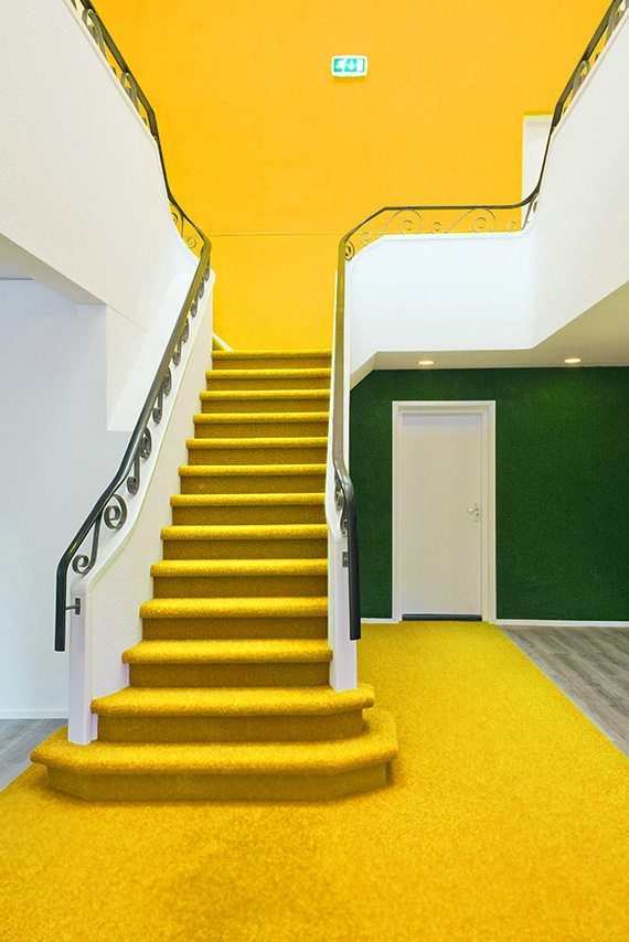 yellow-stairs