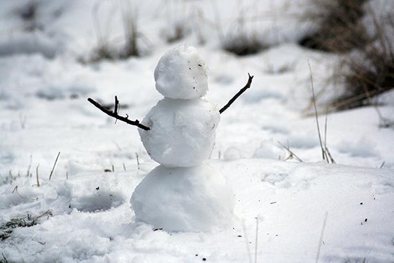 snowman-in-the-garden