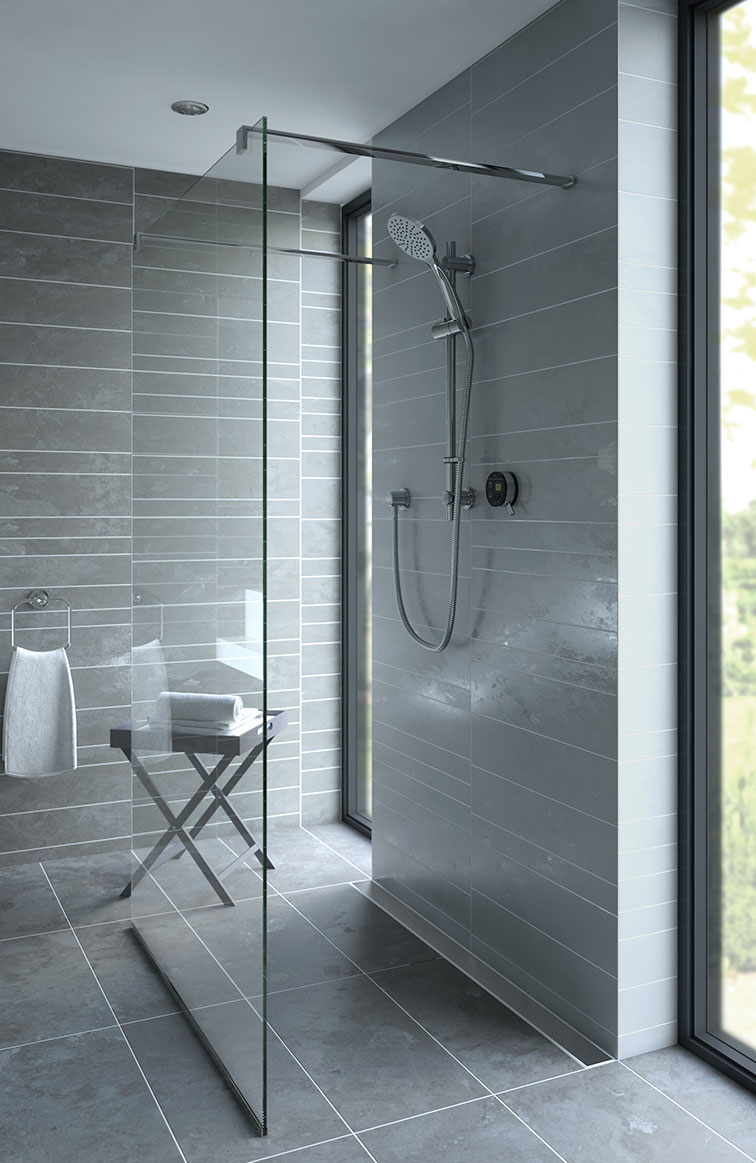 grey bathroom