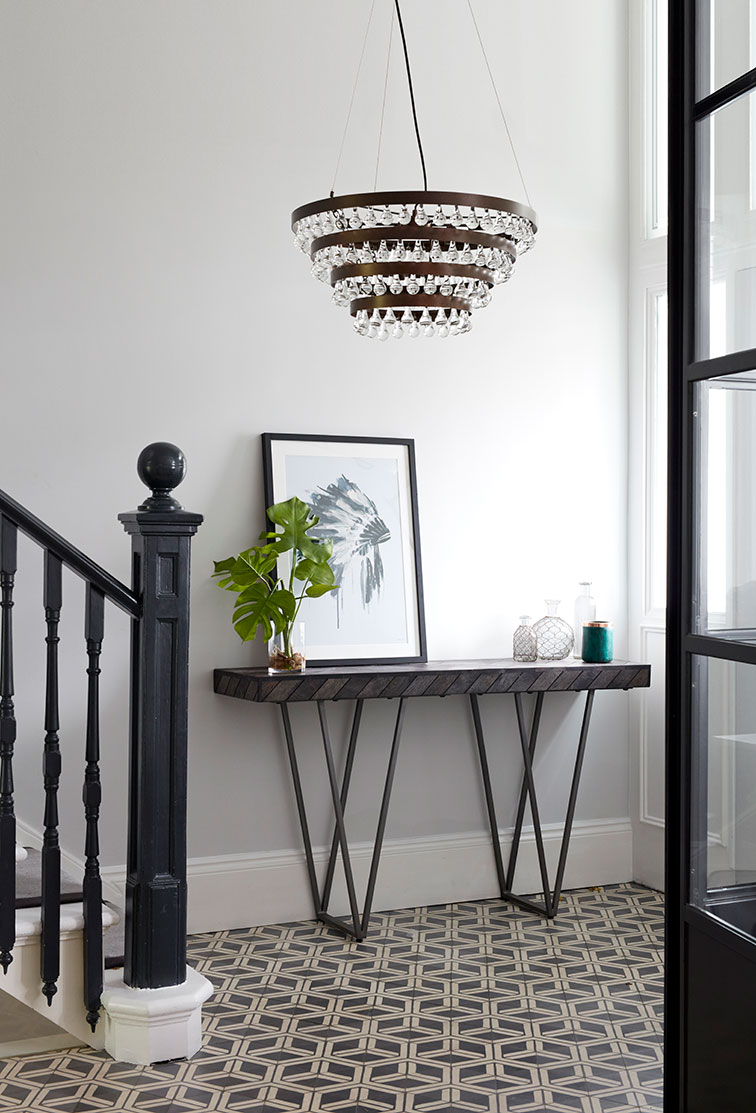 hallway statement pendant light