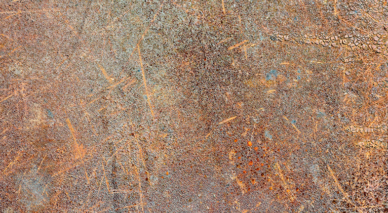 Rusty metal sheet wallpaper print