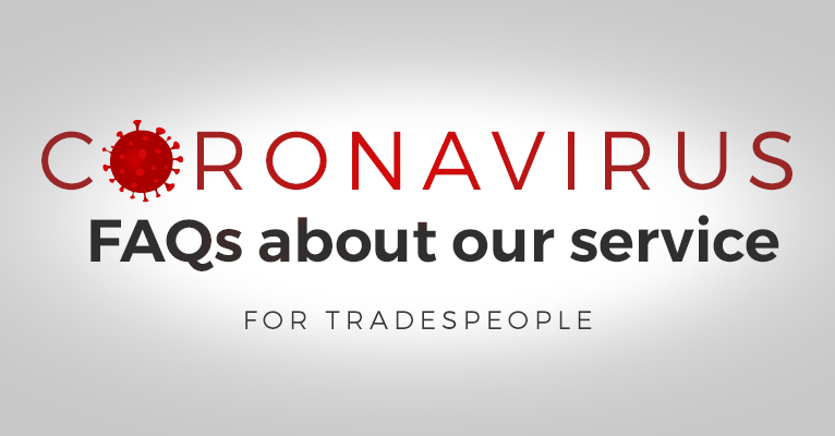 Coronavirus: FAQs for tradespeople