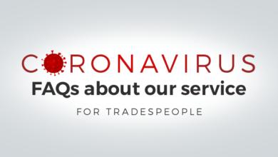 Photo of Coronavirus: FAQs for tradespeople