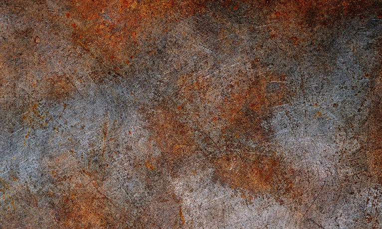 Rusty metal sheet wallpaper