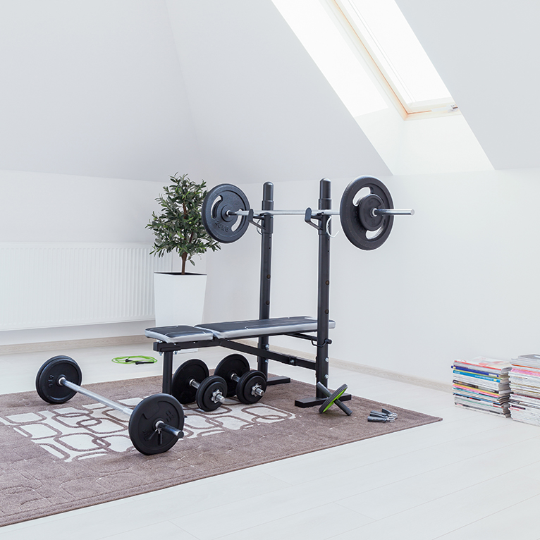 2021 home improvements: Home gym in loft conversion
