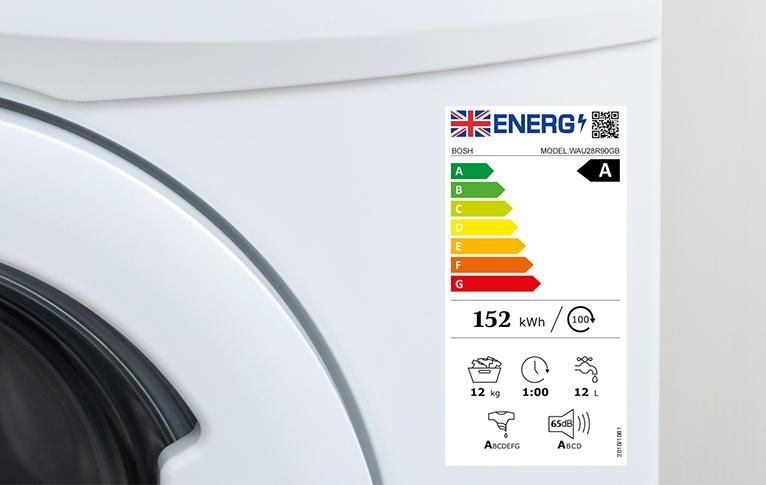 New UK energy label