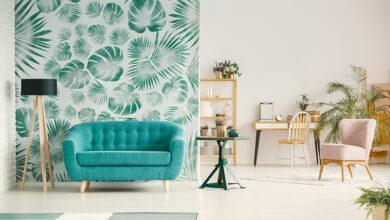 Photo of 5 creative living room wallpaper ideas