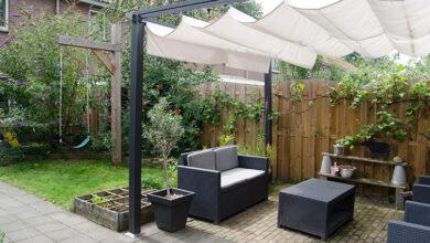 Photo of Pergolas, garden lighting and other outdoor design ideas