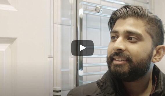 Video: Bathroom renovation story with Abdul and Piratheesh