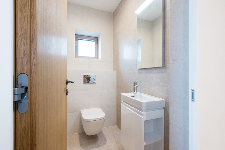 Modern small bathroom room