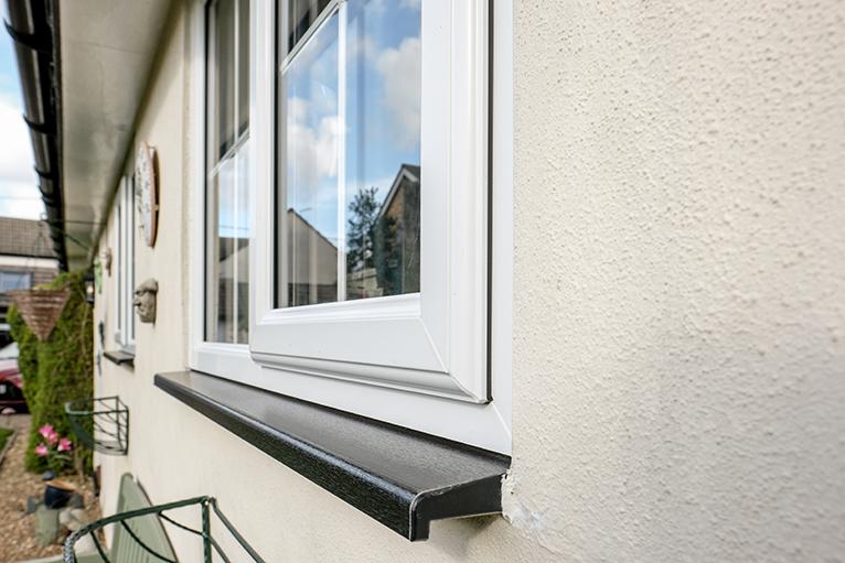 Summer home improvement job ideas: Double glazed uPVC windows on home