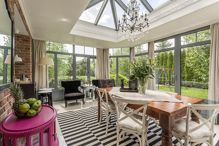 Elegant conservatory design