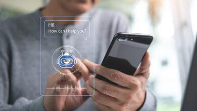 Chatbot on smartphone